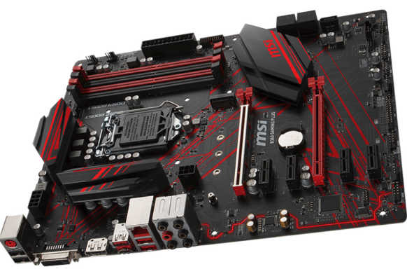 MSI B360-GAMING-PLUS LGA1151, 4xDDR4, PCIE,M.2, USB3.1