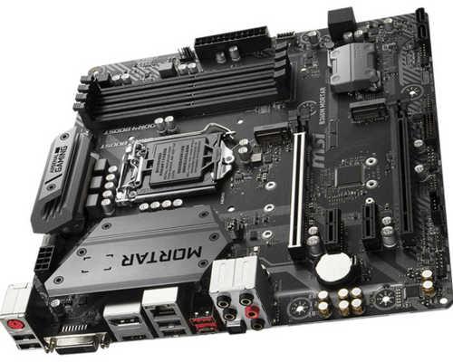 MSI B360M MORTAR LGA1151, 4xDDR4, PCIE,2xM.2, USB3.1 mATX