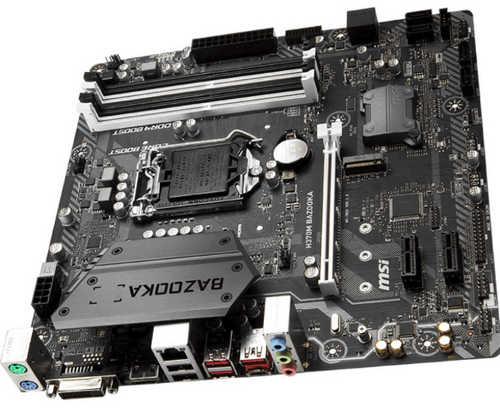 MSI H370M BAZOOKA  LGA1151, 4xDDR4, PCIE, Int. Graphic, USB3.1, mATX
