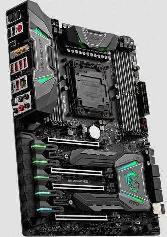 MSI X299 GAMING M7 ACK LGA2066, 8xDDR4, PCIE, USB3.1