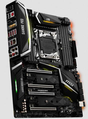 MSI X299 GAMING PRO CARBON AC LGA2066, 8xDDR4, PCIE, USB3.1