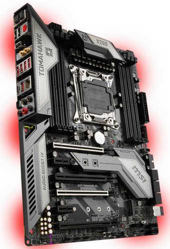MSI X299 TOMAHAWK AC LGA2066, 8xDDR4, PCIE, USB3.1
