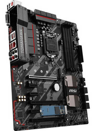 MSI Z270 TOMAHAWK OPT BOOST Intel Z270 LGA1151, 4xDDR4, PCIE, Int. Graphic, USB3.1