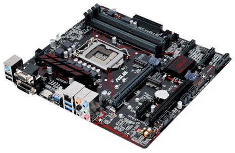 ASUS PRIME-B250M-PLUS Intel B250 LGA1151, 4xDDR4, PCIE, Int. Graphic, USB3.0 mATX