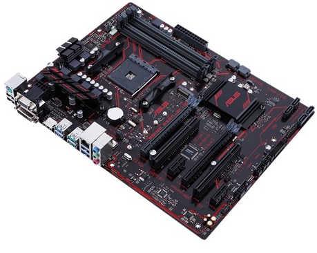 ASUS PRIME-B350-PLUS AMD B350 Ryzen AM4 4xDDR4, PCIE, USB3.1