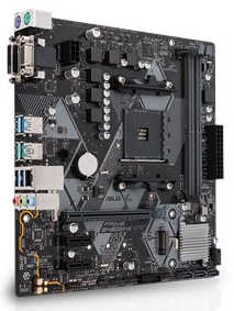 ASUS PRIME-B450M-K AMD AM4, DDR4 3200MHz, M.2, Int. Graphic, USB3.1 mATX