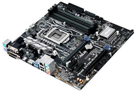 ASUS PRIME-Z270M-PLUS Intel Z270 LGA1151, 4xDDR4, PCIE, Int. Graphic, USB3.0 mATX