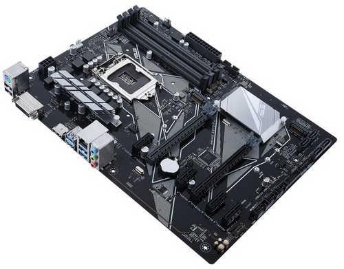 ASUS PRIME-Z370-P Intel Z370 LGA1151, 4xDDR4, PCIE, Int. Graphic, USB3.1
