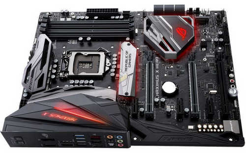 ASUS ROG-MAXIMUS-X-HERO ROG MAXIMUS X HERO Intel Z370 LGA1151, 4xDDR4, PCIE, Int. Graphic, USB3.1