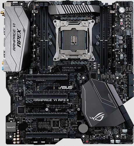 ASUS ROG RAMPAGE VI APEX Intel LGA2066, 8xDDR4, PCIE, USB3.1
