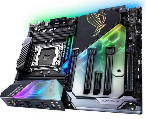 ASUS ROG-RAMPAGE-VI-EXTREME ROG RAMPAGE VI EXTREME Intel LGA2066, 8xDDR4, PCIE, USB3.1