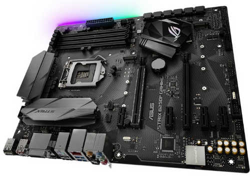 ASUS ROG-STRIX-B250F-GAMING ROG STRIX B250F GAMING Intel B250 LGA1151, 4xDDR4, PCIE, Int. Graphic, USB3.1