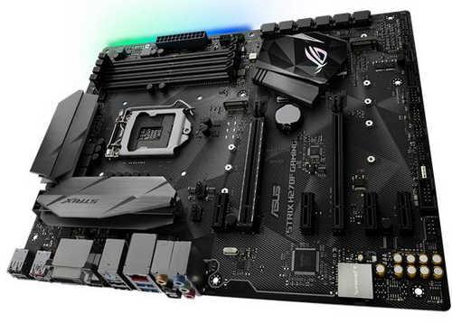 ASUS ROG-STRIX-H270F-GAMING ROG STRIX H270F GAMING Intel H270 LGA1151, 4xDDR4, PCIE, Int. Graphic, USB3.1