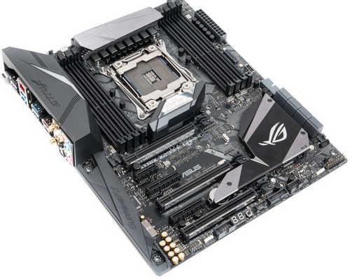 ASUS ROG-STRIX-X299-E-GAMING Intel LGA2066, 8xDDR4, PCIE, USB3.1