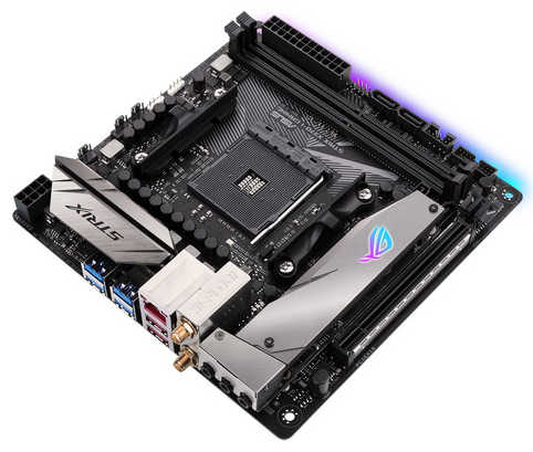 ASUS ROG-STRIX-X370-I-GAMING AMD X370 Ryzen AM4 2xDDR4, PCIE, USB3.1, Mini-ITX