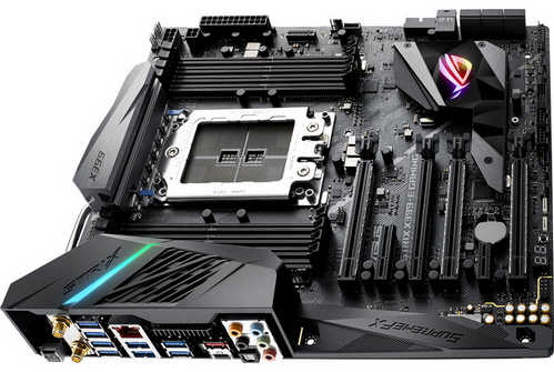 ASUS ROG-STRIX-X399-E-GAMING ROG Strix X399-E Gaming AMD TR4 Ryzen Threadripper Series 8xDDR4, PCIE, USB3.1 EATX