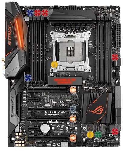ASUS ROG-STRIX-X99-GAMING ROG STRIX X99 GAMING Intel LGA2011 v3, 8xDDR4, PCIE, USB3.1