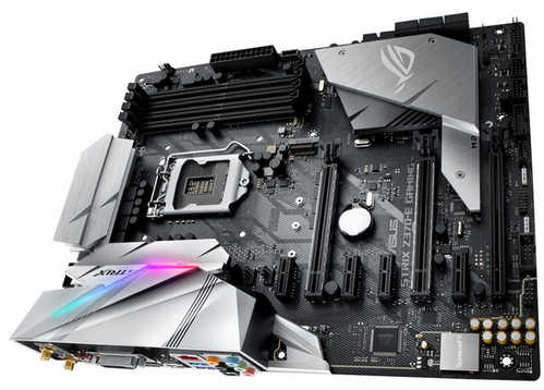 ASUS ROG-STRIX-Z370-E-GAMING ROG STRIX Z370-E GAMING Intel Z370 LGA1151, 4xDDR4, PCIE, Int. Graphic, USB3.1