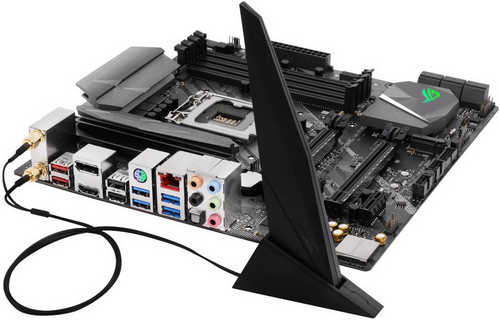 ASUS ROG-STRIX-Z370-G-GAMING-WIFI Intel Z370 LGA1151, 4xDDR4, PCIE, Int. Graphic, USB3.1 mATX