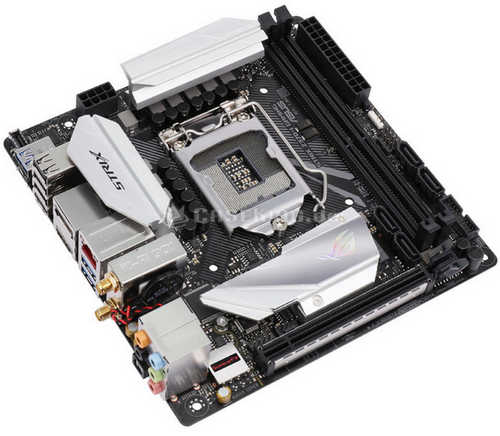 ASUS ROG-STRIX-Z370-I-GAMING ROG STRIX Z370-I GAMING Intel Z370 LGA1151, 2xDDR4, PCIE, Int. Graphic, USB3.1 Mini-ITX