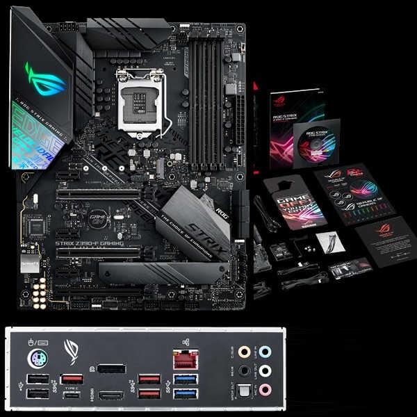 ASUS ROG-STRIX-Z390-F-GAMING, Intel 9th LGA1151, DDR4 4266MHz (O.C.)