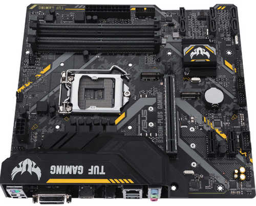 ASUS TUF B360M-PLUS GAMING, 4xDDR4, PCIE, Int. Graphic, USB3.0, mATX