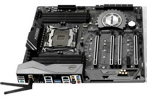 ASRock X299-TAICHI Fatal1ty X299 Gaming K6 LGA2066, 8xDDR4, PCIE, USB3.1