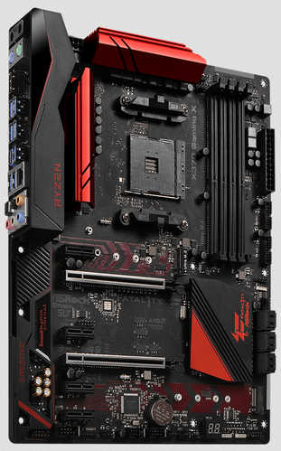 ASRock X370-GAMING-X AMD Ryzen AM4 4xDDR4, PCIE, USB3.1,