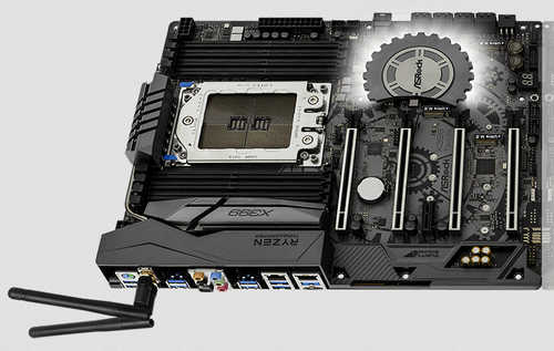 ASRock X399 Taichi AMD TR4 Ryzen Threadripper Series, 8xDDR4, PCIE, USB3.1