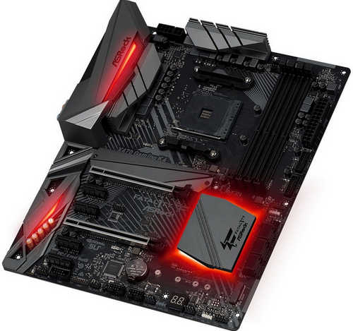 ASRock X470-GAMING-K4 Fatal1ty X470 Gaming K4 AMD AM4 Ryzen Series, DDR4, Int. Graphic