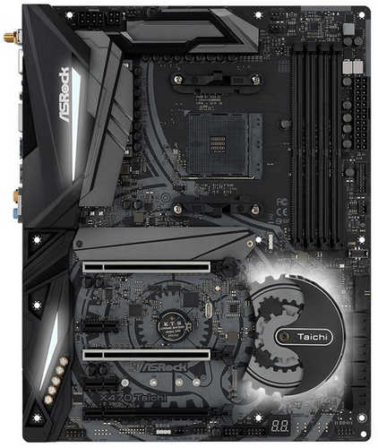 ASRock X470-TAICHI AMD AM4 Ryzen Series, DDR4, Int. Graphic