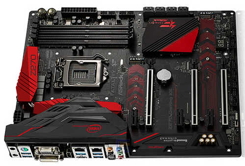 ASRock Z270-GAMING-K6 Intel Fatal1ty Z270 Gaming K6 LGA1151, 4xDDR4, PCIE, Int. Graphic, USB3.1