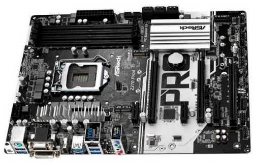 ASRock Z270-PRO4 Intel Z270 LGA1151, 4xDDR4, PCIE, Int. Graphic, USB3.0
