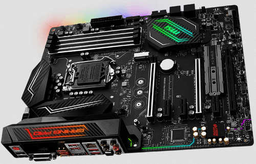 MSI Z270 GAMING PRO CARBON Intel Z270 LGA1151, 4xDDR4, PCIE, Int. Graphic, USB3.1