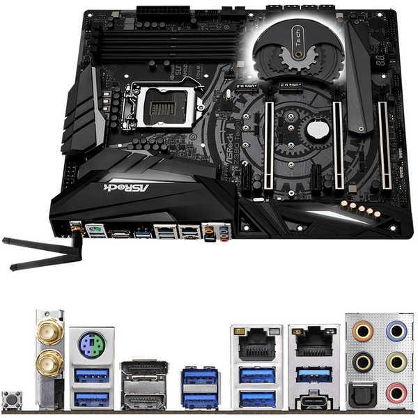 ASRock Z390-TAICHI Z390 Taichi, Intel 9th LGA1151, DDR4 4200MHz (OC)