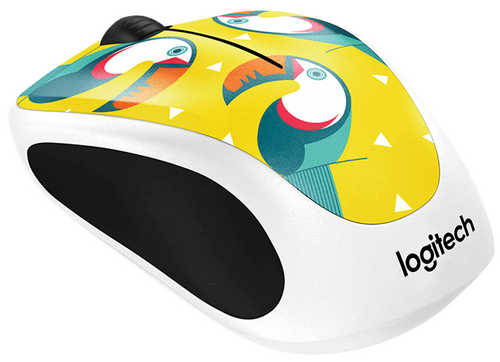 Logitech Party Collection M238 Toucan Wireless Mouse