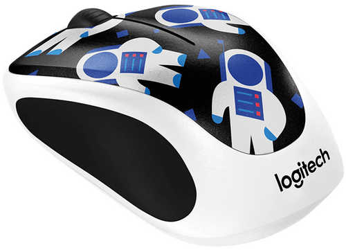 Logitech Party Collection M238 Spaceman Wireless Mouse
