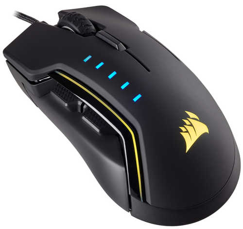 Corsair Glaive RGB Gaming Mouse Black (CH-9302011-AP)