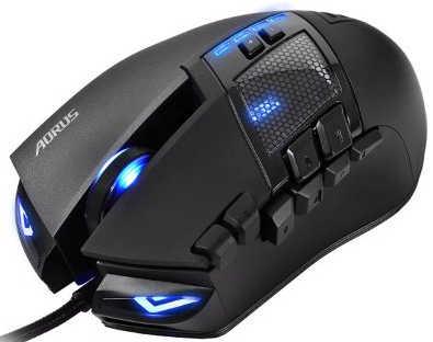 Gigabyte Aorus Thunder M7 MMO Laser Gaming Mouse