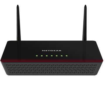 Netgear D6000-100AUS Wireless AC750 WiFi ADSL2+ Modem Router