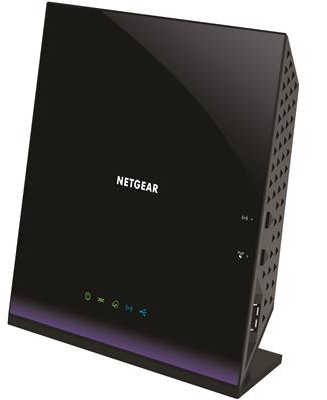 Netgear D6400-100AUS Wireless AC1600 WiFi VDSL/ADSL Modem Router
