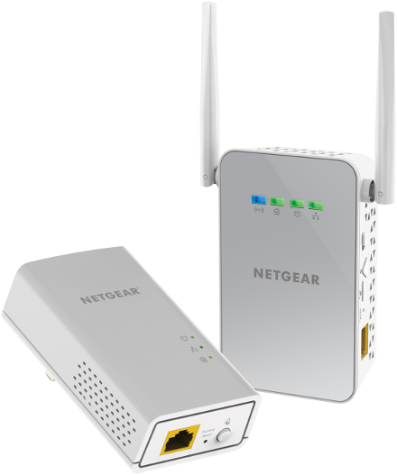 Netgear PLW1000-100AUS PowerLINE 1000 + WiFi Access Point, Extender