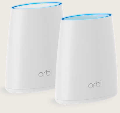 Netgear RBK40-100AUS Orbi Whole Home AC2200 Tri-band WiFi System (WiFi Router and Satellite)