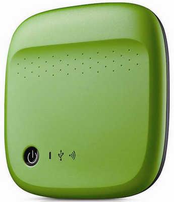 500GB Seagate STDC500401 Wireless Mobile Storage Green