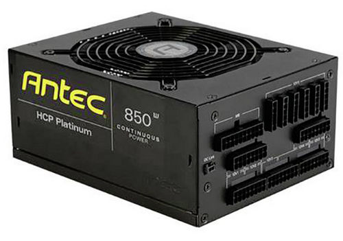 850W Antec HCP850 High Current Pro Platinum 80 PLUS Modular Cables Management Power Supply