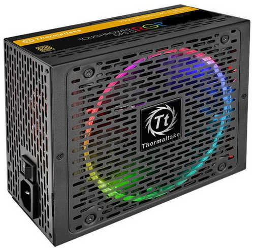650W Thermaltake Toughpower Grand RGB 80 Plus Gold Modular Cables Management Power Supply
