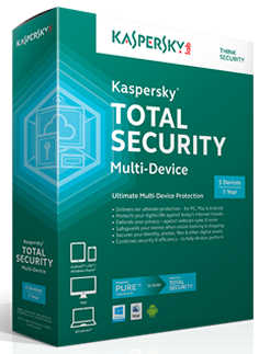 Kaspersky Total Security Multi-Device Retail Pack 3 Device 2 Years License