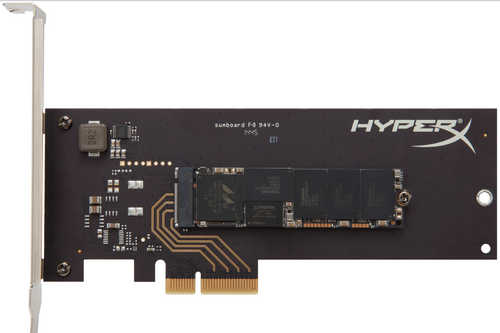480GB Kingston HyperX HHHL Form Factor PCIe Solid State Disk (SSD)