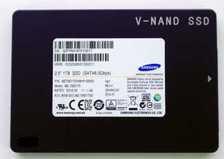 "500GB 2.5"" Samsung  MZ-75E500BW 850 EVO 3D V-NAND SATA III 6.0 Gb/s Solid State Disk (SSD)"