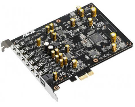 ASUS Xonar AE  7.1 PCIE Gaming Sound Card